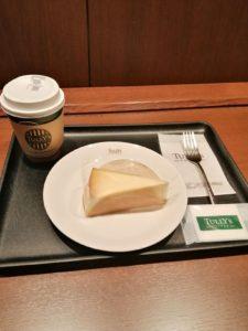 ニューヨークチーズケーキセット