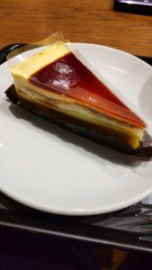 スタバ カスタードプリンケーキ