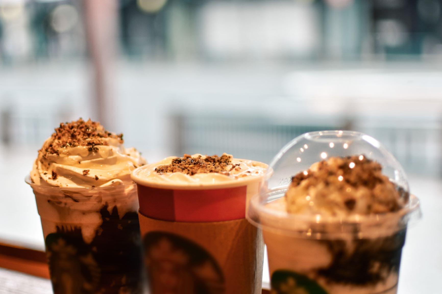 コーヒー&クリームフラペチーノ